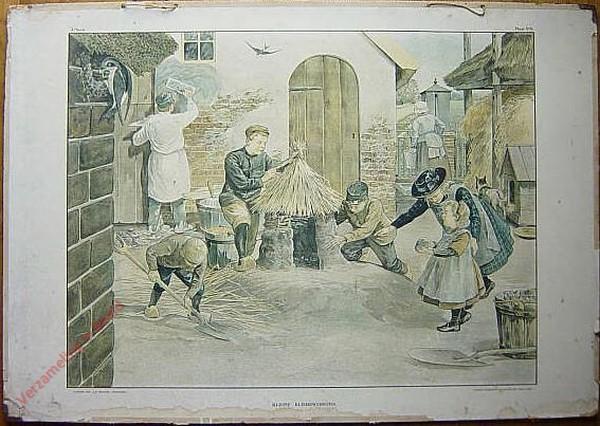 3e Serie - Winterhalfjaar - Metselen - 6 - Kleine kleibewerkers