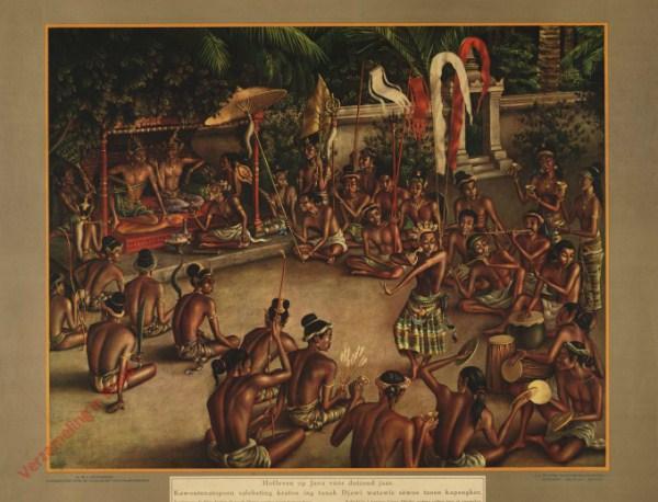 1 - Hofleven op Java v��r duizend jaar