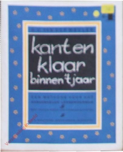 Kant en klaar binnen 't jaar door E.C. van der Meulen. Een methode voor het aanvankelijk leesonderwijs. Deel 4