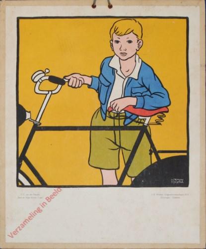 [Jongen met fiets]