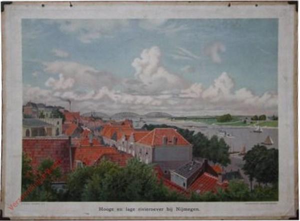 5 - Hooge en lage rivieroever bij Nijmegen
