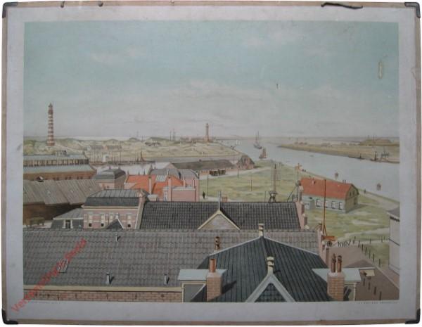 9 - De haven van IJmuiden [vanaf het land]