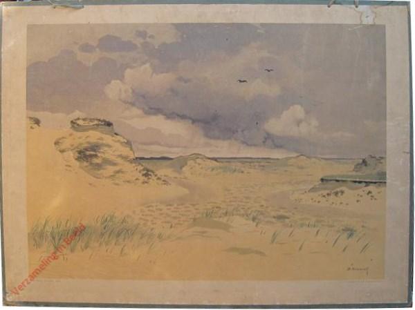 10 [var 1] - Eene zandverstuiving op de Veluwe