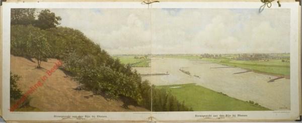 13+14 - Riviergezicht aan den Rijn bij Rhenen [zonder tram]