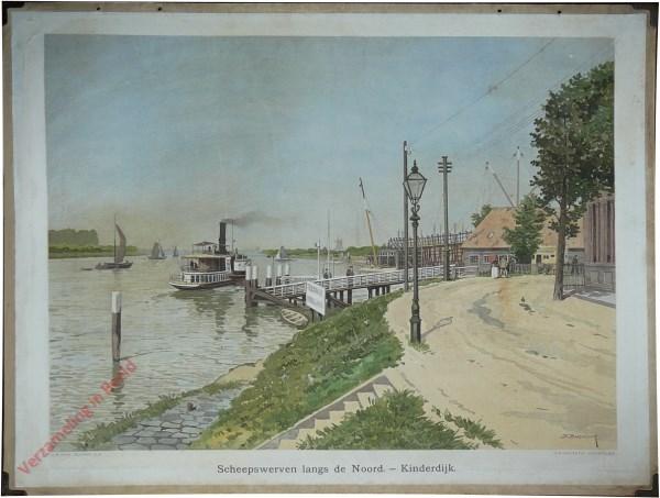 19 - Scheepswerven langs de Noord - Kinderdijk