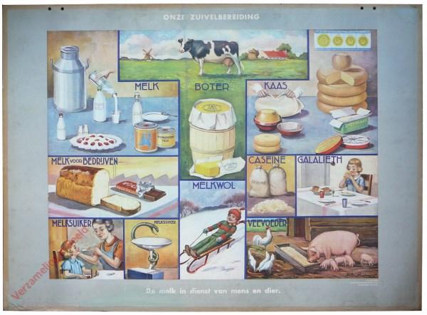 De melk in dienst van mens en dier