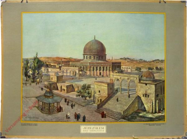 3 - Jeruzalem, het Tempelplein