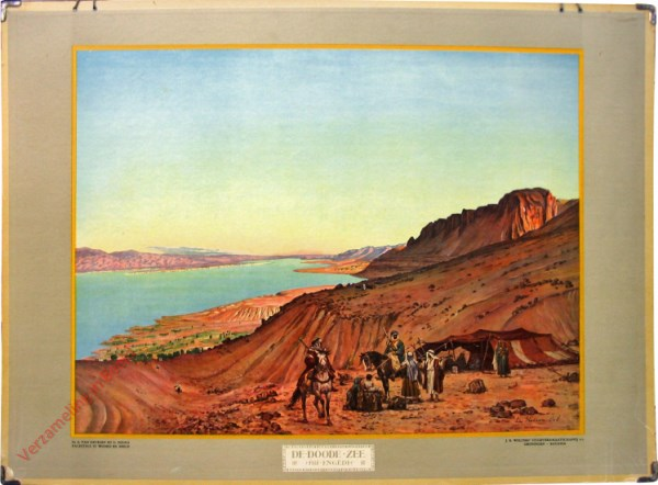 6 - De Doode Zee bij Engedi
