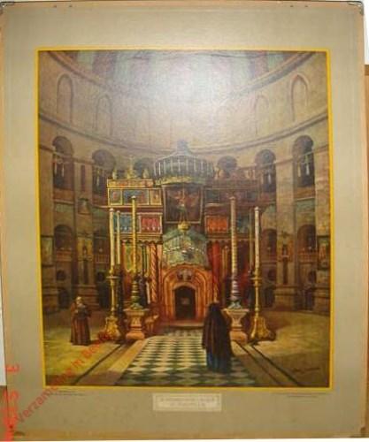 12 - De Basiliek van het H. Graf te Jerusalem. De ingang tot het H. Graf