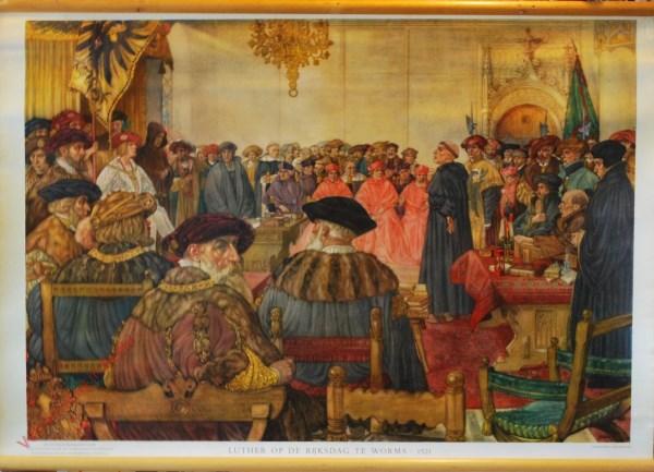 [Var5] - Luther op de Rijksdag te Worms, 1521