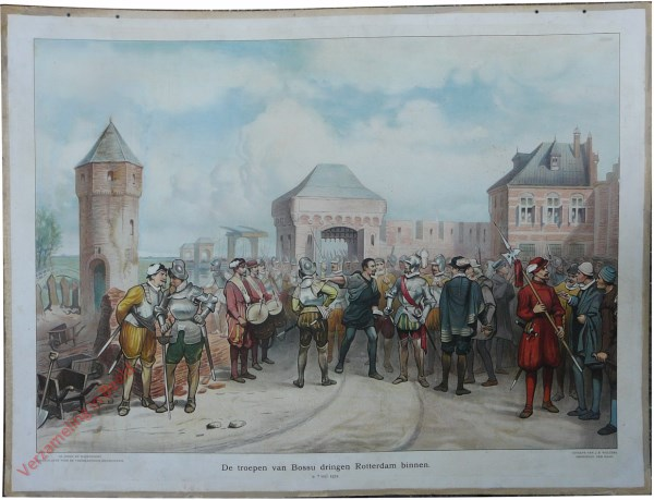 [Var1] - De troepen van Bossu dringen Rotterdam binnen, 9 April 1572
