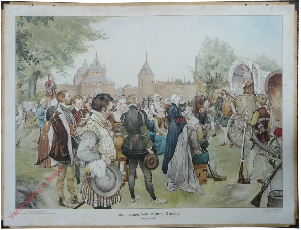 [Var1] - Een Hagepreek buiten Utrecht, Augustus 1566