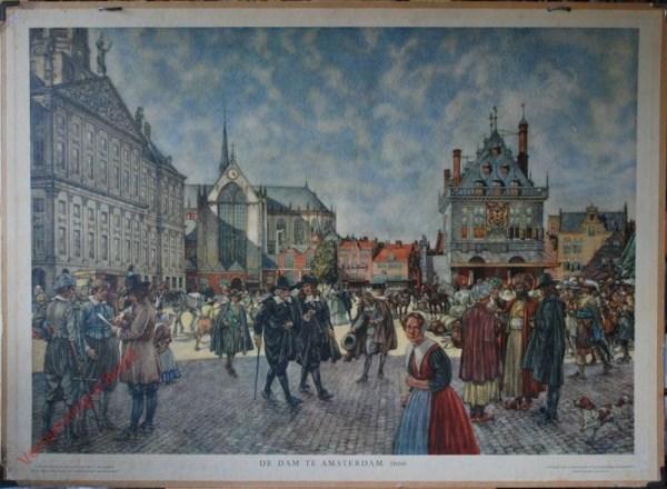 [Var5] - De Dam te Amsterdam, 1666