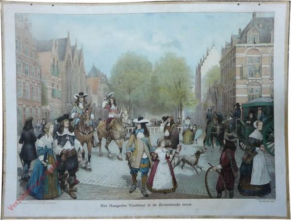 [Var1] - Het Haagsche Voorhout in de Zeventiende eeuw