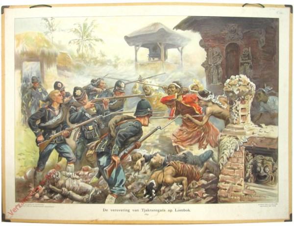 [Var1] - De verovering van Tjakranegara op Lombok, 1894