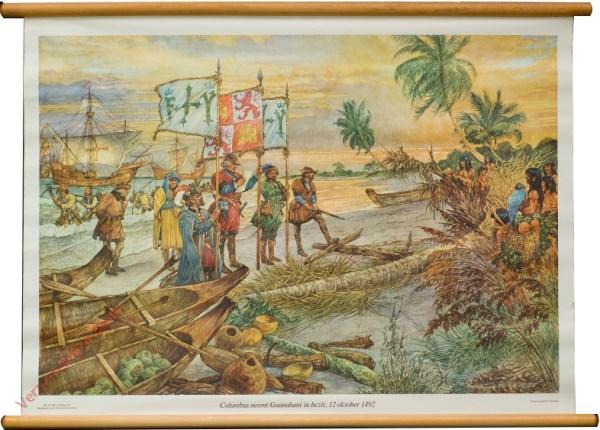 [Var7] - Columbus neemt Guanahani in bezit