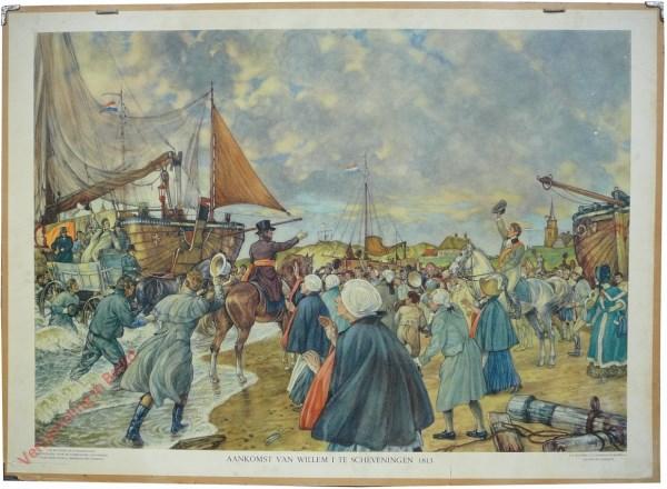 [Var5] - Aankomst van Willem I te Scheveningen, 1813