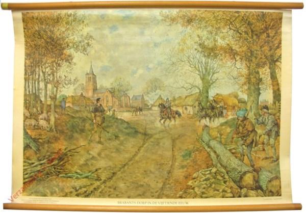[Var6] - Brabants dorp in de vijftiende eeuw [Zonder hond]