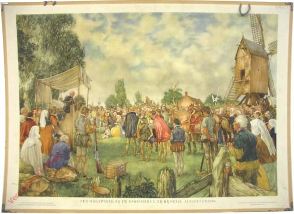 [Var5] - Een Hagepreek bij de Hoornbrug bij Rijswijk augustus 1566