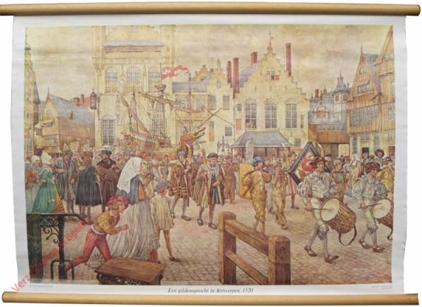 [Var7] - Een Gildeoptocht in Antwerpen 1520