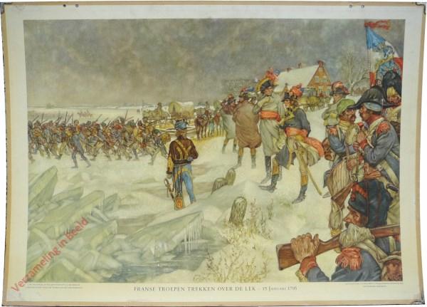 [Var5] - Franse troepen trekken over de Lek