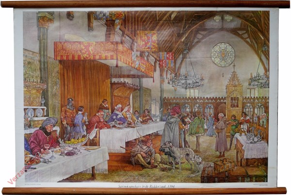 [Var7] - Sprooksprekers in de Ridderzaal, 1394