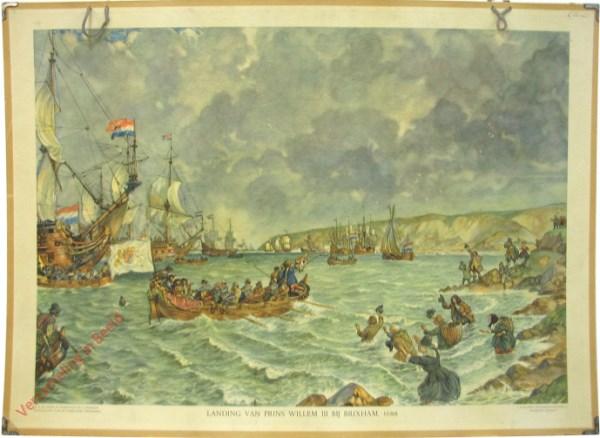 [Var5] - Landing van Prins Willem III bij Brixham, 1688
