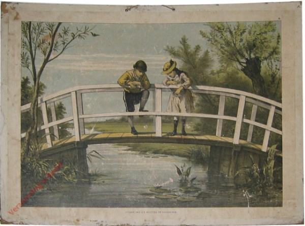 1e serie No. 9 - De Brug [Geen eendjes onder de brug]