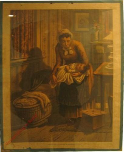 1e serie No. 15 - Moeder en Kind [vrouw met hoedje]