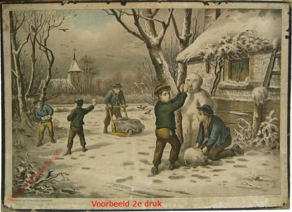 1e serie No. 20 - De Winter [Voorbeeld, andere druk]
