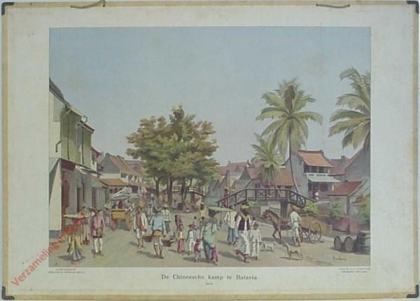 1 - De Chineesche Kamp te Batavia. Java [Bleckman]