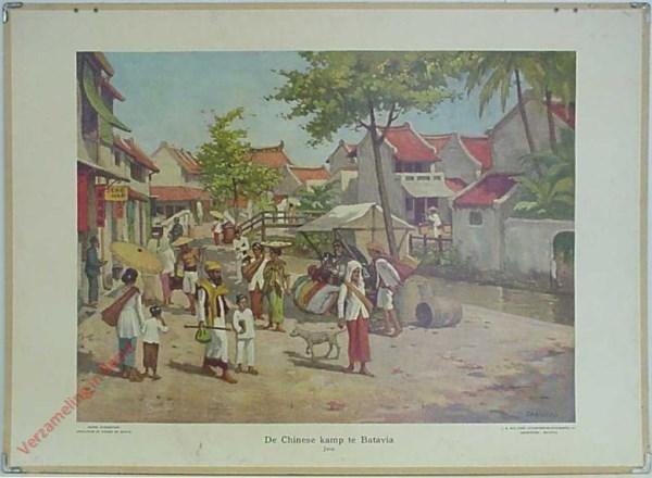1 - De Chineesche Kamp te Batavia. Java [Gabrielse]