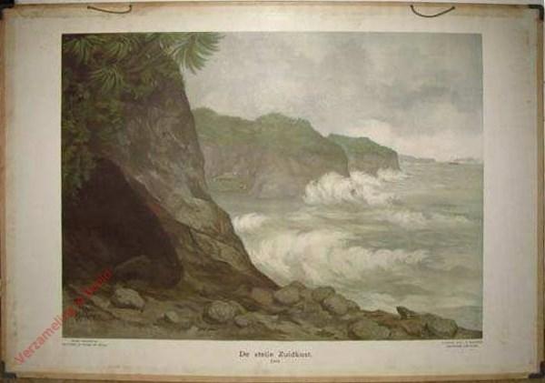 4 - De steile Zuidkust. Java [Bleckman]