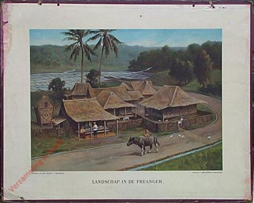 Eerste serie, no. 1 - Landschap in de Preanger