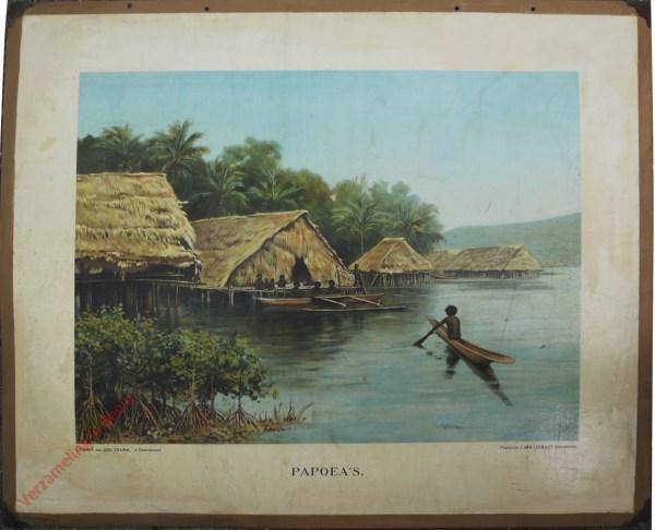 Tweede serie, no. 5 - Papoea's
