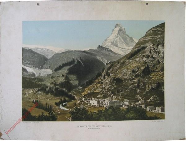 1e serie, I - Zermatt en de Matterhorn. In het hooggebergte