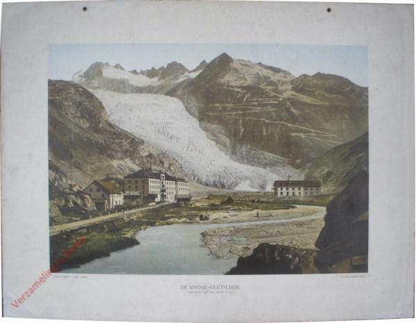 1e serie, II - de Rhonegletscher