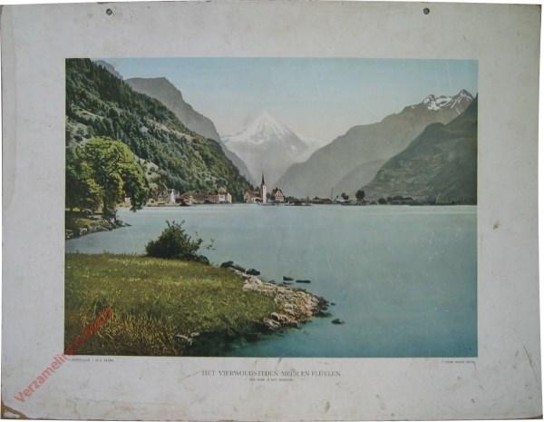 1e serie, III - Het vierwoudsteden-meer en Fl�elen. Een meer in het gebergte