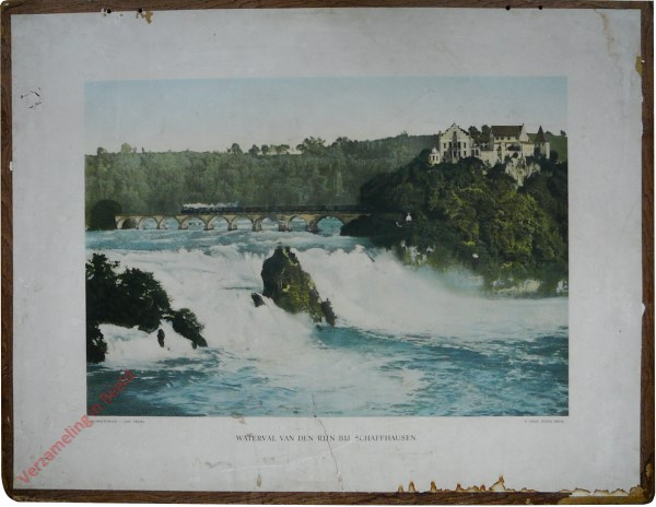 1e serie, IV - De waterval van Schaffhausen