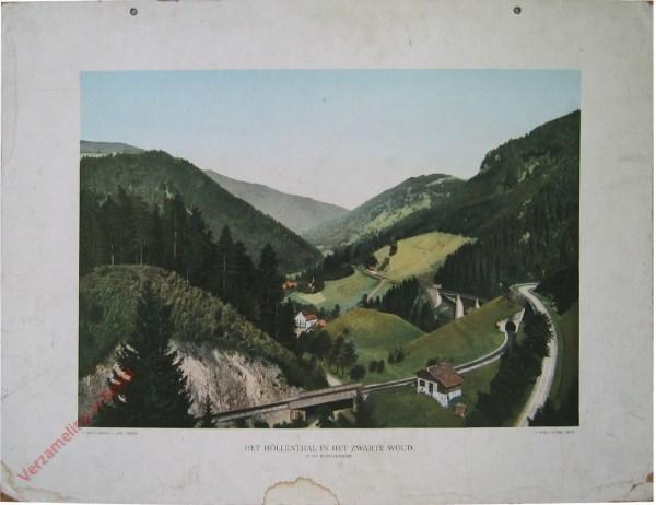 1e serie, V - Het H�llenthal in het Zwarte Woud. In het Middelgebergte