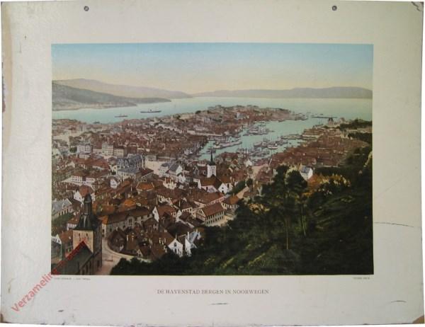 2e serie, III - De havenstad Bergen in Noorwegen