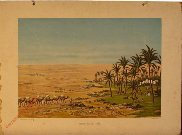 3e serie, II - Woestijn en oase