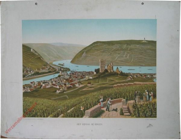 4e serie, II - Het Rijndal bij Bingen