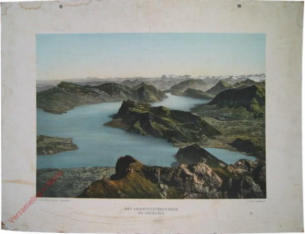 4e serie, III - Het vierwoudsteden-meer en omgeving
