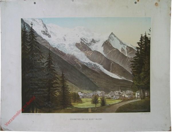 4e serie, V - Chamonix en de Mont Blanc