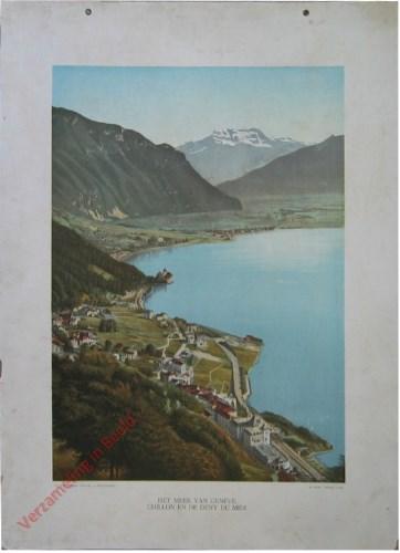 4e serie, VI - Het meer van Geneve, Chillon en de Dent du Midi