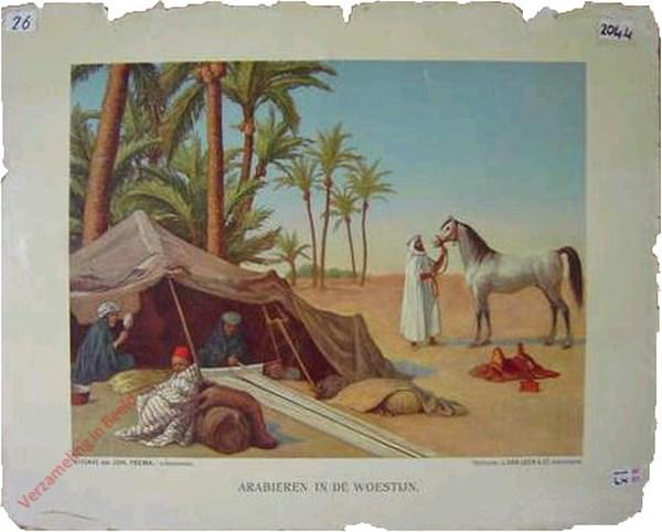 3 - Arabieren in de woestijn