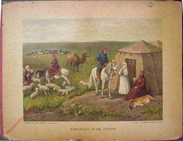 4 - Kirgiezen in de steppe