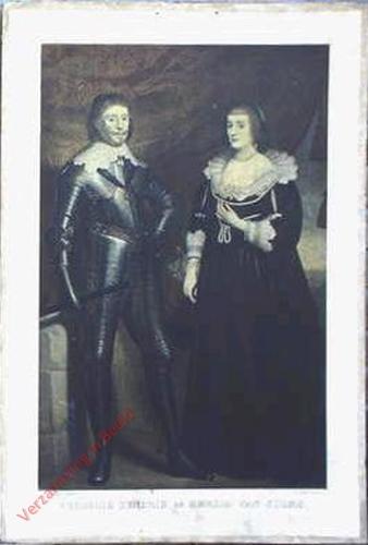 Tweede zestal, 2 - Frederik Hendrik en Amalia van Solms