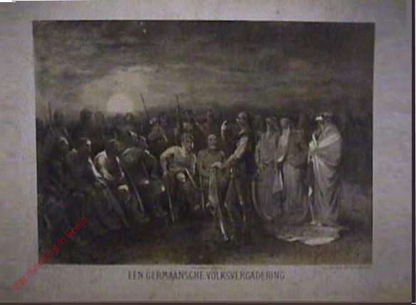 Eerste serie, No. 1 - Eene germaansche Volksvergadering
